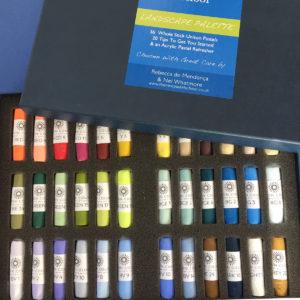 Nel's Landscape Set of 36 Unison pastels, £138 plus p&p