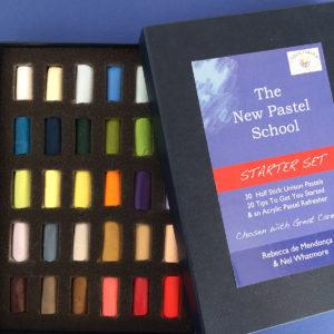 Small Starter Set of 30 half-stick Unison Pastels, £64 plus p&p